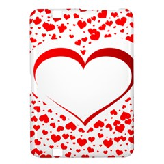 Love Red Hearth Kindle Fire Hd 8 9