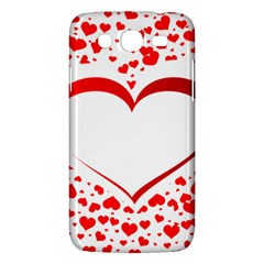 Love Red Hearth Samsung Galaxy Mega 5 8 I9152 Hardshell Case