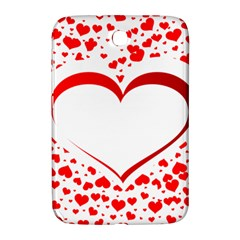 Love Red Hearth Samsung Galaxy Note 8 0 N5100 Hardshell Case