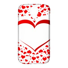 Love Red Hearth Samsung Galaxy S4 Classic Hardshell Case (pc+silicone)