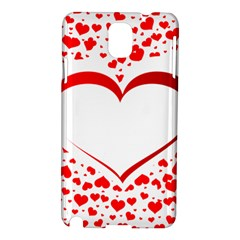 Love Red Hearth Samsung Galaxy Note 3 N9005 Hardshell Case