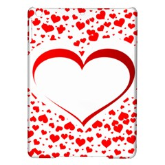 Love Red Hearth Ipad Air Hardshell Cases