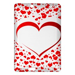 Love Red Hearth Amazon Kindle Fire Hd (2013) Hardshell Case