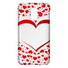 Love Red Hearth Galaxy S5 Mini