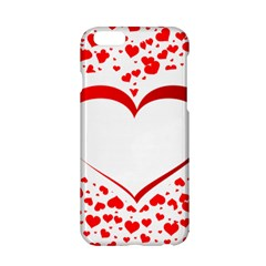 Love Red Hearth Apple Iphone 6/6s Hardshell Case