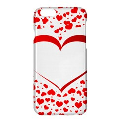 Love Red Hearth Apple Iphone 6 Plus/6s Plus Hardshell Case