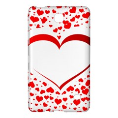 Love Red Hearth Samsung Galaxy Tab 4 (7 ) Hardshell Case