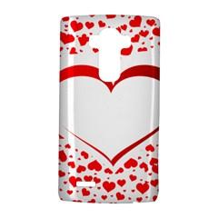 Love Red Hearth Lg G4 Hardshell Case