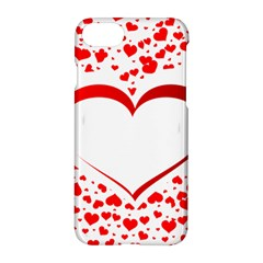 Love Red Hearth Apple Iphone 7 Hardshell Case
