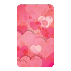 Hearts Pink Background Memory Card Reader