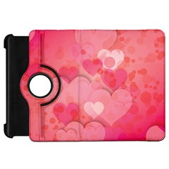 Hearts Pink Background Kindle Fire Hd 7