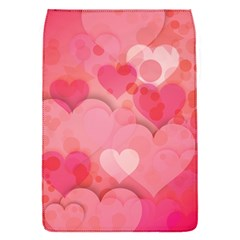 Hearts Pink Background Flap Covers (s)