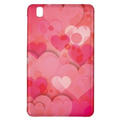 Hearts Pink Background Samsung Galaxy Tab Pro 8 4 Hardshell Case