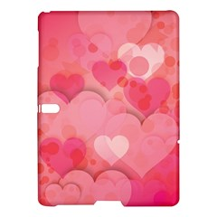 Hearts Pink Background Samsung Galaxy Tab S (10 5 ) Hardshell Case