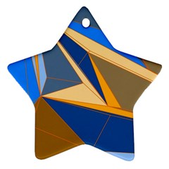 Abstract Background Pattern Ornament (star)