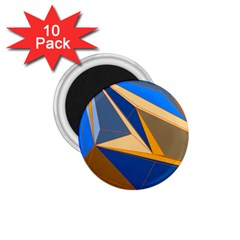 Abstract Background Pattern 1 75  Magnets (10 Pack)