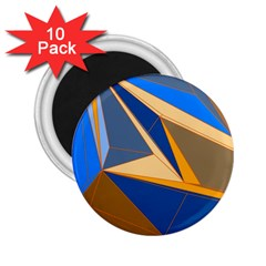 Abstract Background Pattern 2 25  Magnets (10 Pack)