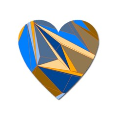 Abstract Background Pattern Heart Magnet