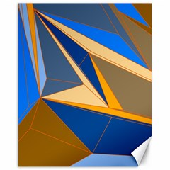 Abstract Background Pattern Canvas 16  X 20