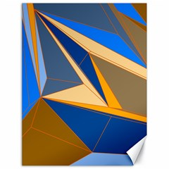 Abstract Background Pattern Canvas 18  x 24
