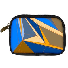 Abstract Background Pattern Digital Camera Cases