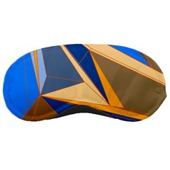 Abstract Background Pattern Sleeping Masks