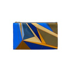 Abstract Background Pattern Cosmetic Bag (Small)