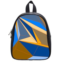 Abstract Background Pattern School Bags (small)