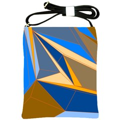 Abstract Background Pattern Shoulder Sling Bags