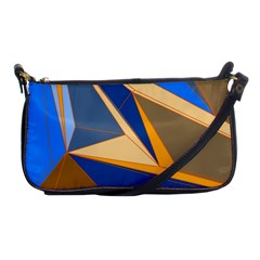 Abstract Background Pattern Shoulder Clutch Bags