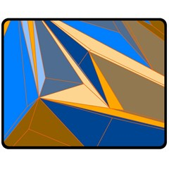 Abstract Background Pattern Fleece Blanket (Medium)