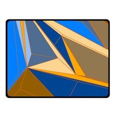 Abstract Background Pattern Fleece Blanket (small)
