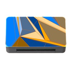 Abstract Background Pattern Memory Card Reader With Cf