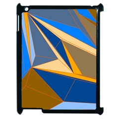 Abstract Background Pattern Apple Ipad 2 Case (black)