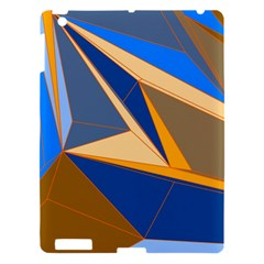 Abstract Background Pattern Apple Ipad 3/4 Hardshell Case