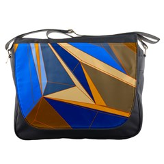 Abstract Background Pattern Messenger Bags