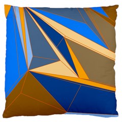 Abstract Background Pattern Large Cushion Case (two Sides)