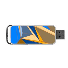 Abstract Background Pattern Portable USB Flash (One Side)