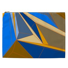 Abstract Background Pattern Cosmetic Bag (XXL)