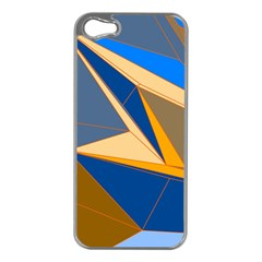 Abstract Background Pattern Apple Iphone 5 Case (silver)