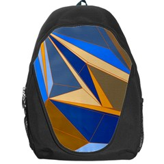 Abstract Background Pattern Backpack Bag