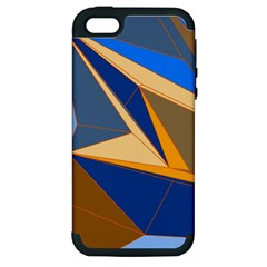 Abstract Background Pattern Apple Iphone 5 Hardshell Case (pc+silicone)