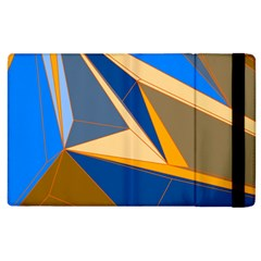 Abstract Background Pattern Apple Ipad 3/4 Flip Case