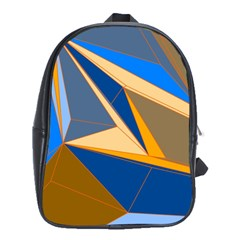 Abstract Background Pattern School Bags (xl)