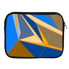 Abstract Background Pattern Apple iPad 2/3/4 Zipper Cases