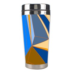 Abstract Background Pattern Stainless Steel Travel Tumblers