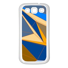 Abstract Background Pattern Samsung Galaxy S3 Back Case (white)