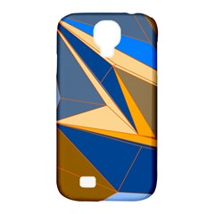 Abstract Background Pattern Samsung Galaxy S4 Classic Hardshell Case (PC+Silicone)
