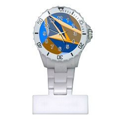 Abstract Background Pattern Plastic Nurses Watch