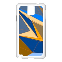 Abstract Background Pattern Samsung Galaxy Note 3 N9005 Case (white)